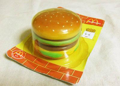 ハンバーガーのヨーヨー