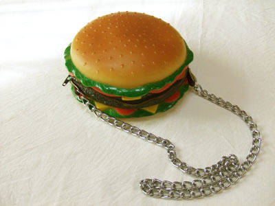 ハンバーガーのポシェット