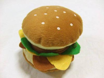 ハンバーガーの小銭入れ