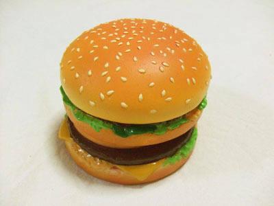 ハンバーガーの置時計