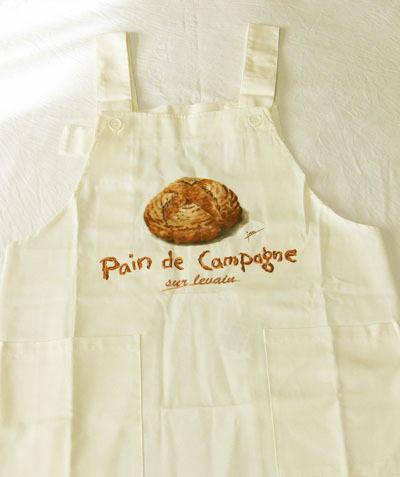カンパーニュ パン柄のエプロン