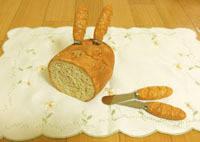 フランスパンのバターナイフ
