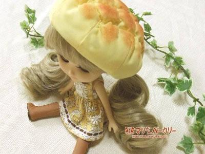【ドール用品】メロンパンのベレー帽(でこニキサイズ)