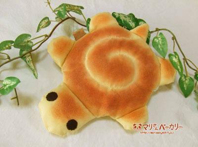 かめさんのふかふかポーチ/うずまきパン