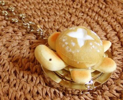 フランスパンかめさんのバッグハンガー