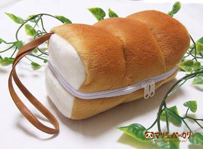 山型パンのバニティポーチ