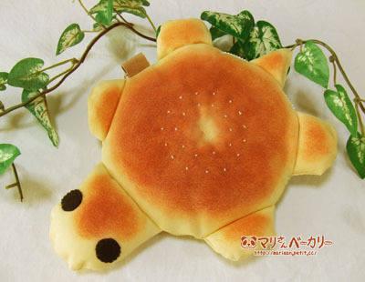 かめさんのふかふかポーチ/あんパン
