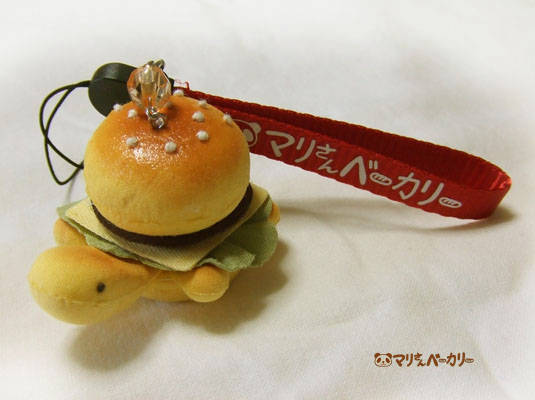 【抽選会】ハンバーガーかめさんのストラップ